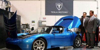 8.- El Tesla Roadster ganó el premio de Time Magazine al invento del año en 2006 en la categoría de transporte Foto:Getty Images