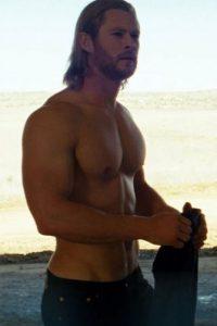 El actor se ha convertido en un codiciado galán de Hollywood. Foto:vía facebook.com/Thor