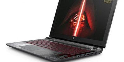 Hace unos días HP anunció una laptop Edición Especial Star Wars Foto:HP