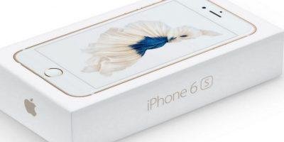 Así es el empaque Foto:Apple