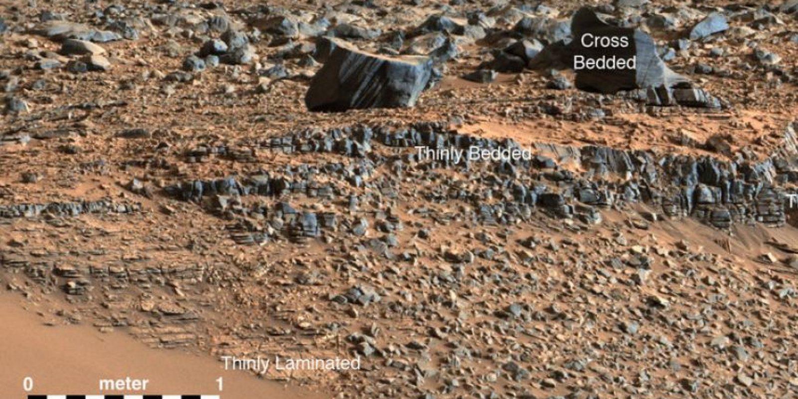 Este descubrimiento se dio a conocer luego que la NASA revelara que en Marte continúa existiendo agua líquida. Foto:nasa.gov