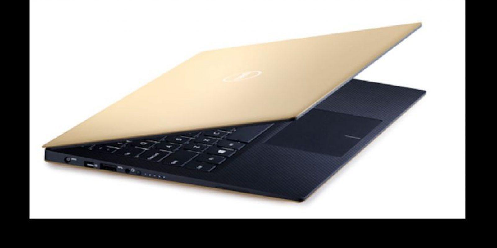 """""""El oro para los usuarios chinos es símbolo de riqueza y buena suerte"""", explicó la compañía en un comunicado el mes de septiembre de este año Foto:Dell"""
