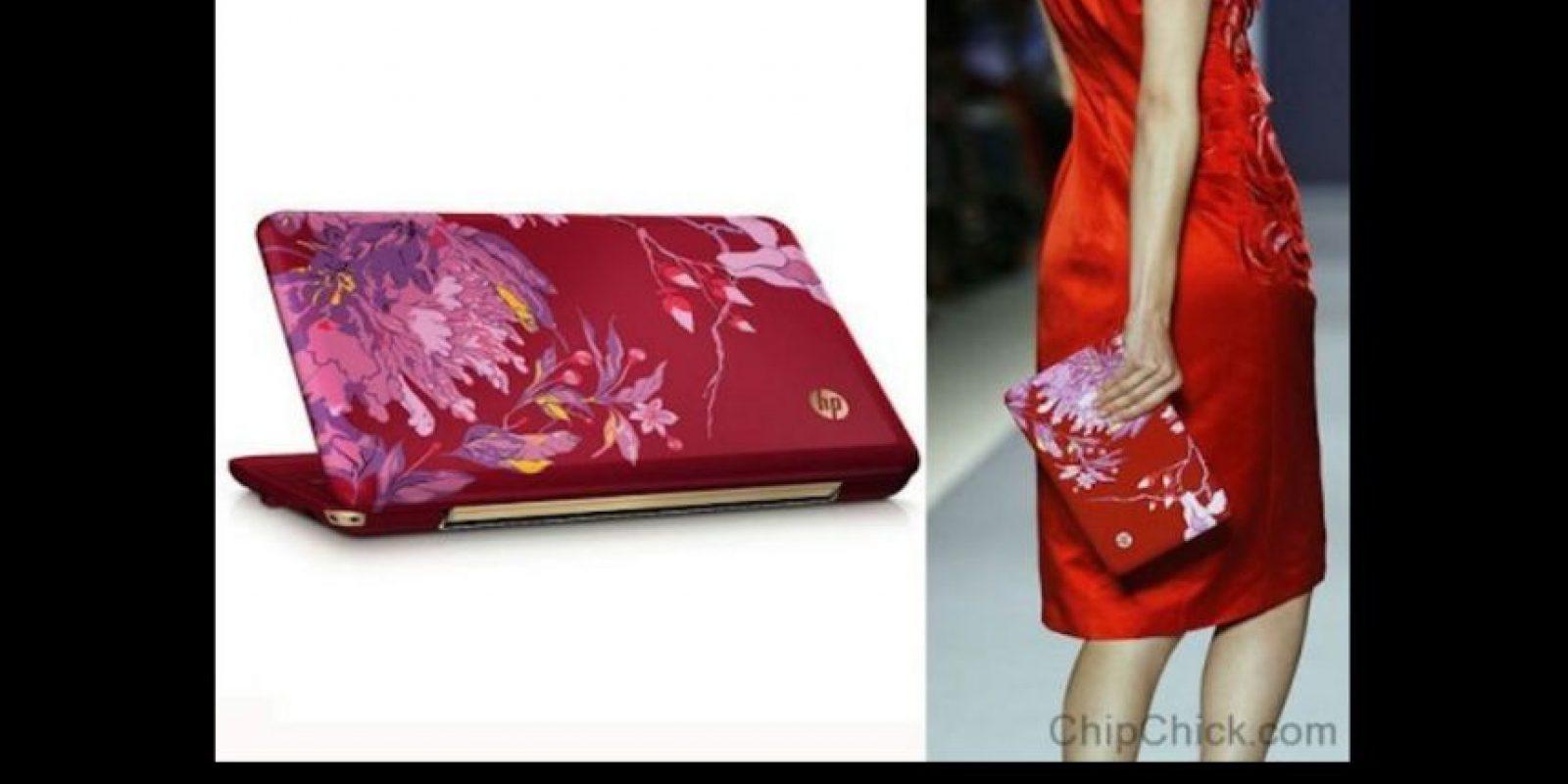 La notebook Digital Clutch fue diseñada por Vivenne Tam, experta en modas de Nueva York Foto:HP