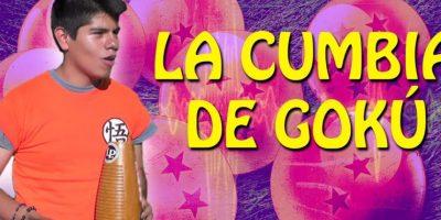 """""""La cumbia de Gokú"""" fue muy famosa. Foto:vía Youtube"""