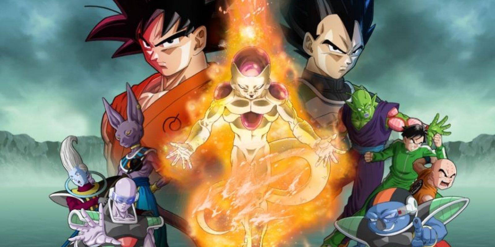 """Más aún con sus películas y la nueva serie, """"Dragon Ball Super"""". Foto:vía Toei"""