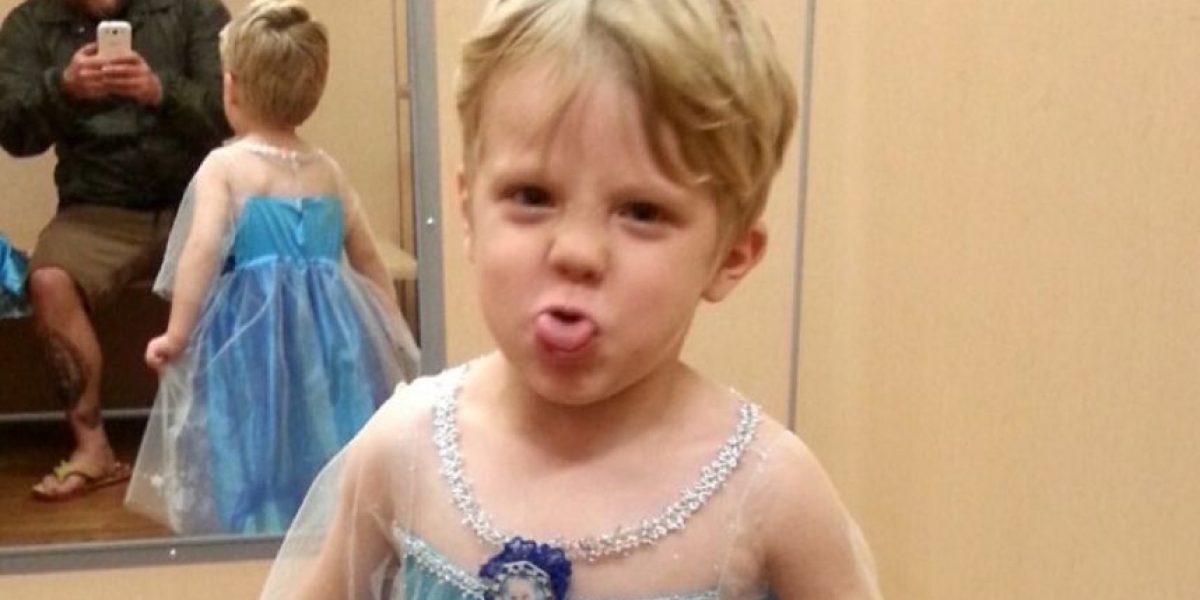Permitirá que el disfraz de Halloween de su hijo sea el vestido de Elsa de Frozen
