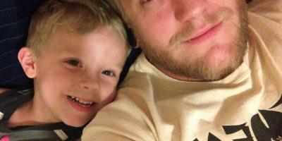 Caiden y su papá Foto:Vía Facebook/Paul Henson