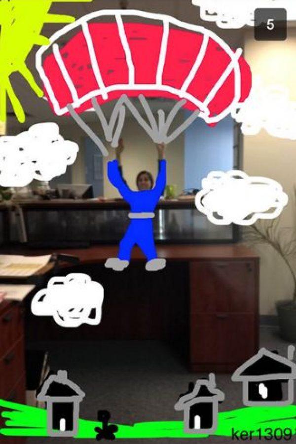 Escape de la oficina Foto:Snapchat
