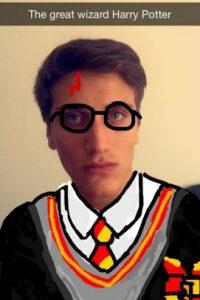 """""""El gran mago Harry Potter"""" Foto:Imgur"""