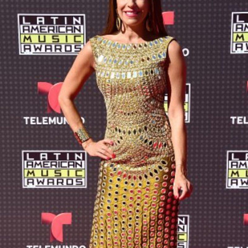 Kika Rocha, vestida de Cleopatra. Foto:vía Getty Images