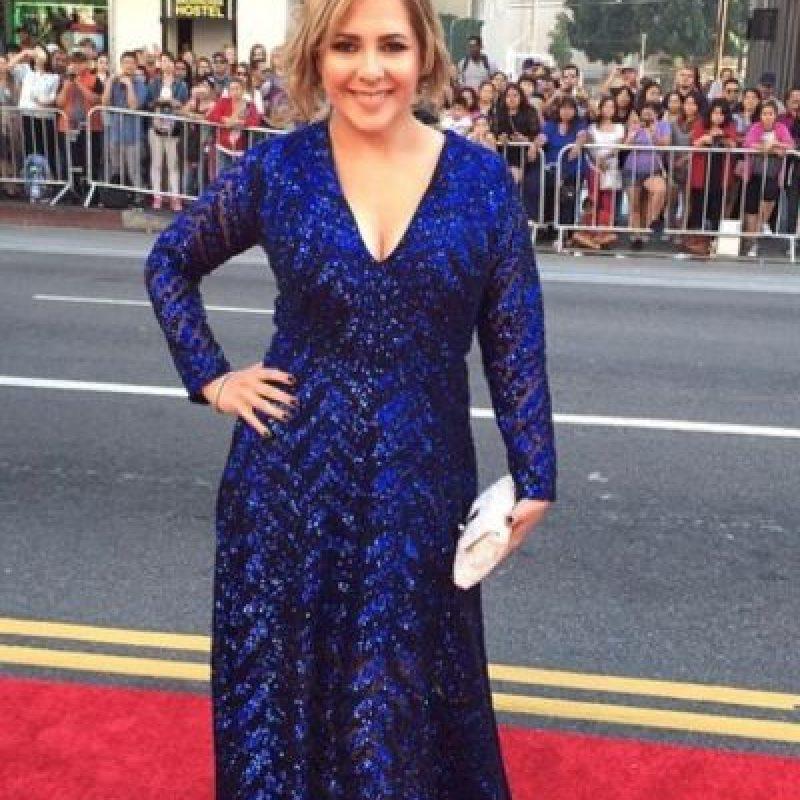Ana María Canseco, como protagonista de telenovela de los años 80. Foto:vía Getty Images