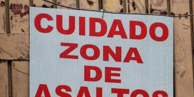 Si ustedes pasan es bajo su propio riesgo. Foto:vía SoloenMexico/Instagram