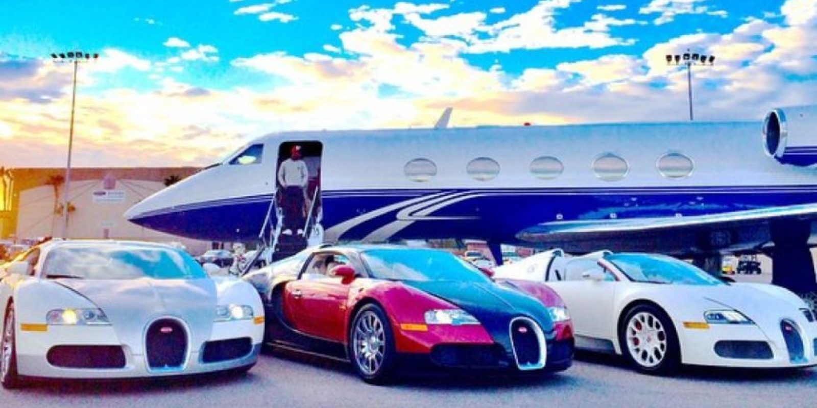 """""""Money"""" tiene 38 años Foto:Vía instagram.com/floydmayweather"""