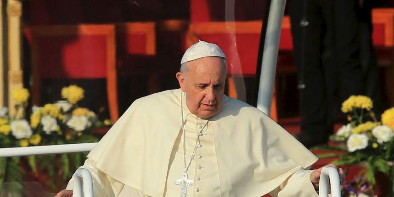 El sospechoso es hijo de hijo de una prima del papa Francisco. Foto:Getty Images
