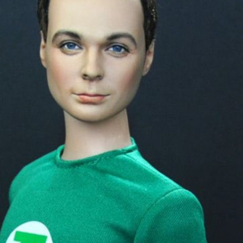 "Jim Parsons como ""Sheldon"" en ""The Big Bang Theory"" Foto:vía NoelCruz"
