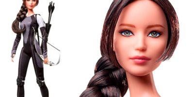 """Como la protagonista de """"Los Juegos del Hambre"""" Foto:vía Mattel"""