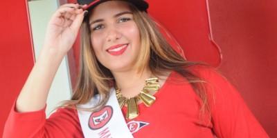 Mariel Amelia Caamaño es la madrina del Escogido para la temporada 2015-2016