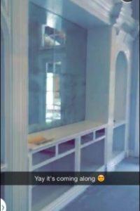 El lugar cuenta con cinco habitaciones Foto:vía Snapchat