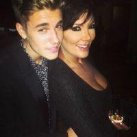 Y de Kris Jenner, la matriarca de esta familia. Foto:vía instagram.com/justinbieber