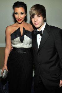 Pero antes de eso, una de sus primeras amigas fue Kim Kardashian. Foto:Getty Images