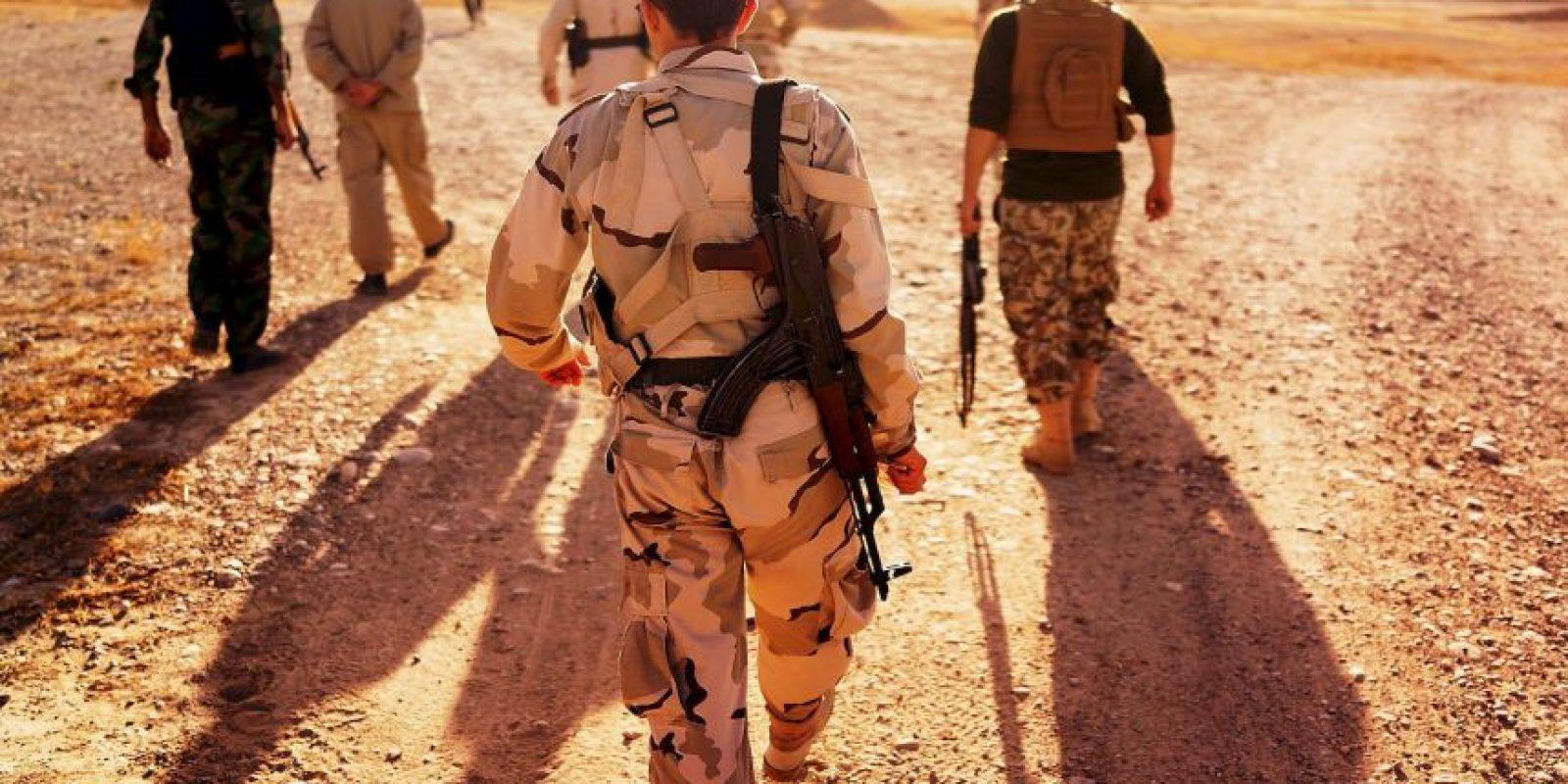 """1.- En 2004, con el grupo expandiendo sus acciones a Irak, el líder Abu Musab al-Zarqawi juró lealtad a Osama bin Laden y la organización pasó a conocerse informalmente como """"Al-Qaeda en Irak"""". Foto:Getty Images"""