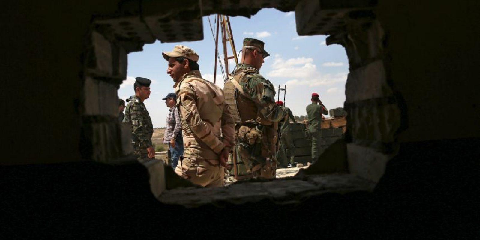 7.- Luego de que se desató la guerra civil en Siria, se creó el llamado Ejército Libre Sirio (ELS). Foto:Getty Images