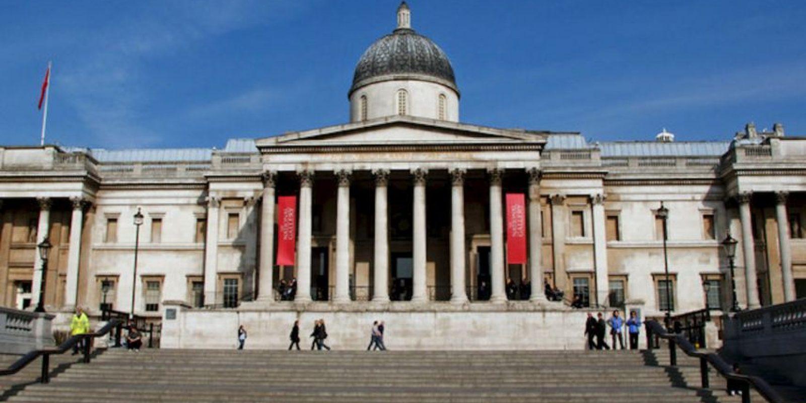 La National Gallery es el principal museo de arte de Londres. Foto:Wikicommons