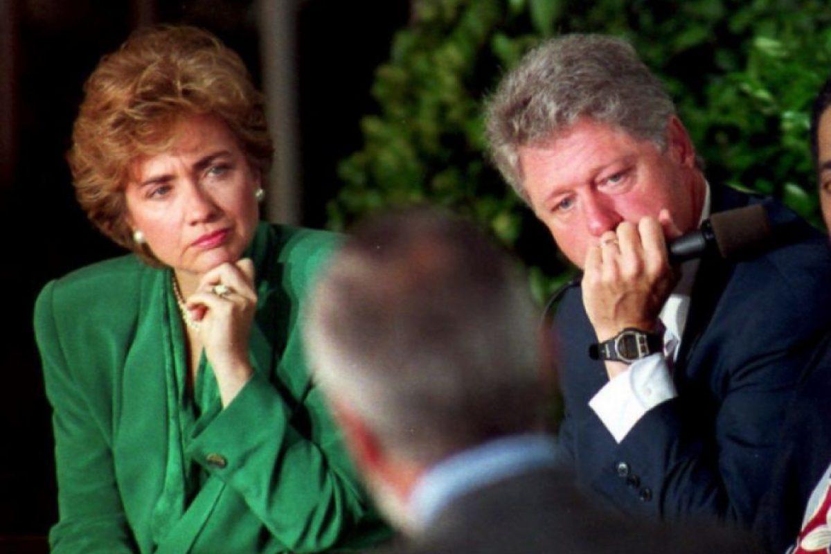 Septiembre de 1993, ya como mandatario Foto:Getty Images