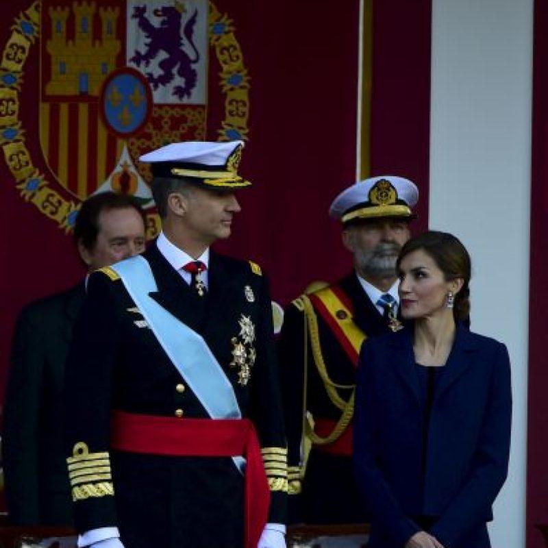 """Al respecto, el Rey Felipe VI celebró """"El día de todos"""", en referencia a su negativa por la independencia de Cataluña Foto:AFP"""