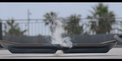 Puede levitar magnéticamente, pero necesita una superficie especial para ello. Foto:Lexus