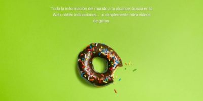 Android 1.6 Donut Foto: Google