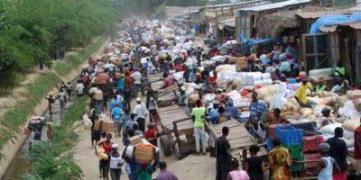 Mercado binacional haitiano-dominicano fracasa de nuevo este lunes