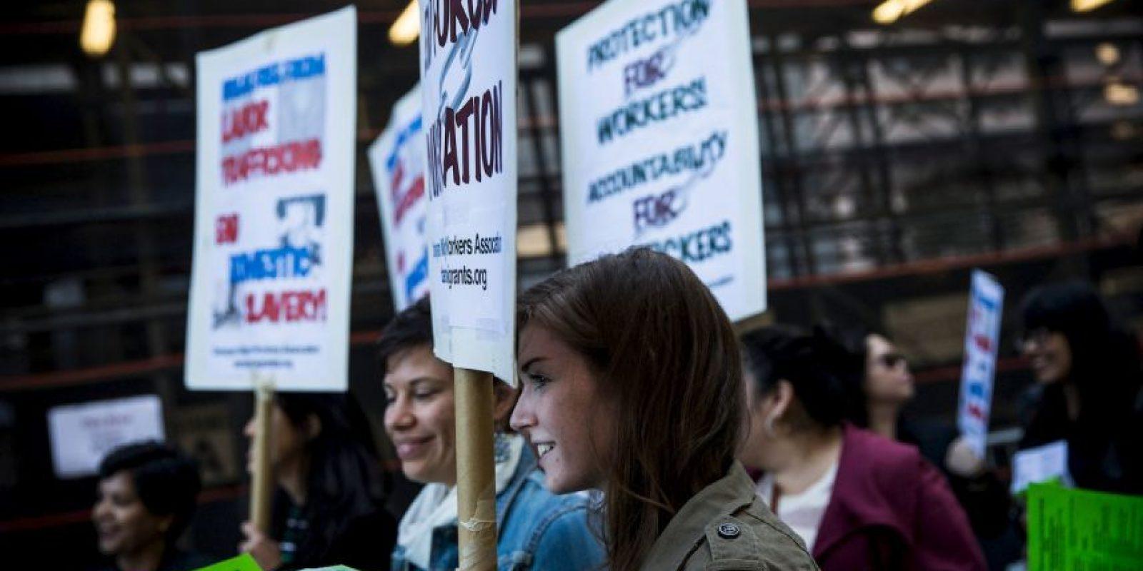 De aquellos que son explotados por individuos o empresas, 4,5 millones son víctimas de explotación sexual forzosa. Foto:Getty Images
