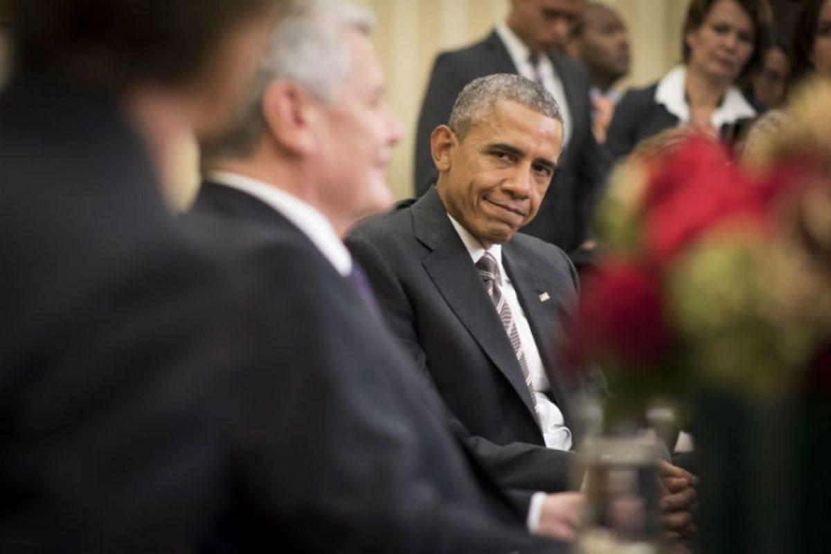 El presidente de Estados Unidos no cree que Donald Trump será quien lo sustituya. Foto:Getty Images