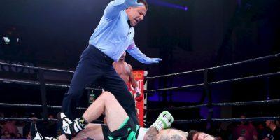 El boxeador se enfrentó a Danny O'Connor en la categoría de Peso Welter. Foto:Getty Images