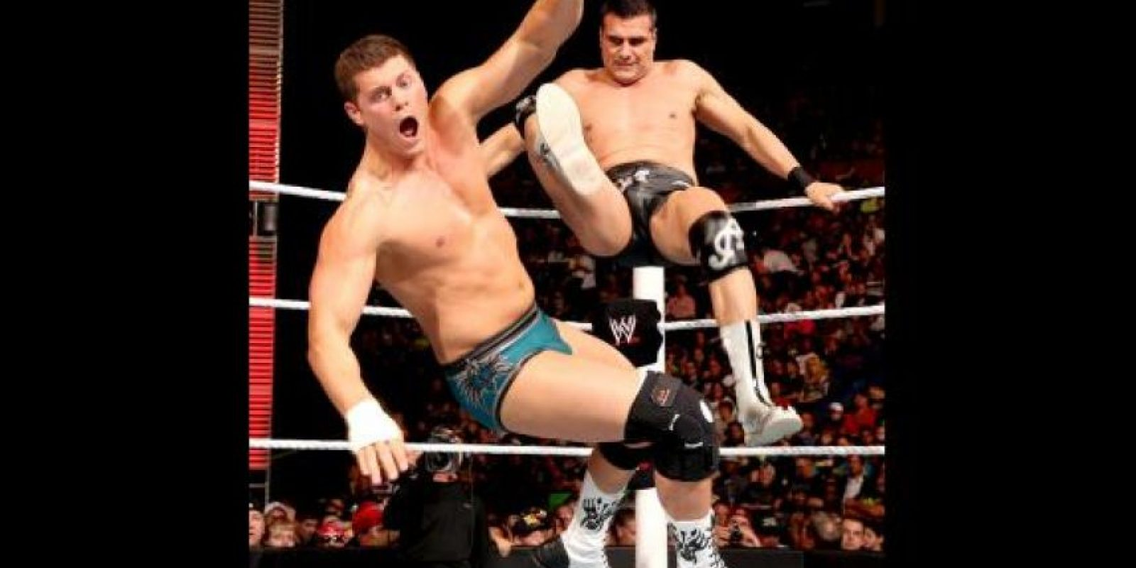 Es hijo de Dos Caras y sobrino de Mil Máscaras Foto:WWE