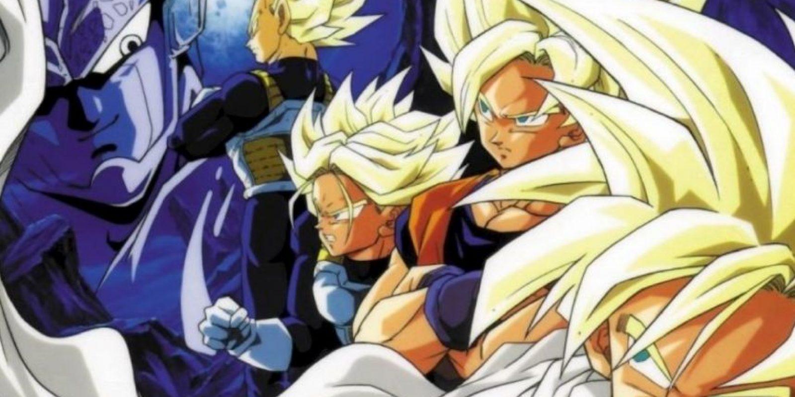 Y así incrementan su poder de pelea. Foto:vía Toei