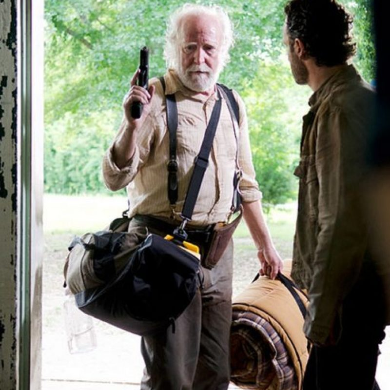 "Fue ""Hershel Greene"" Foto:AMC"