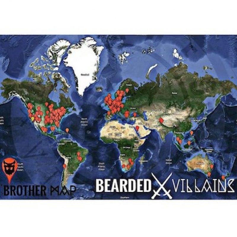 También existen en otros países del mundo Foto:Instagram.com/BeardedVillains