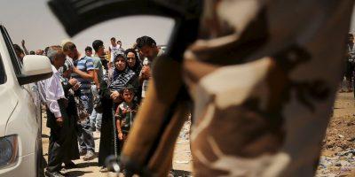Asentado en un amplio territorio de Irak y Siria Foto:Getty Images