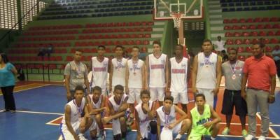 Santiago Rodríguez avanza a la final del Torneo Nacional de Basket U-15