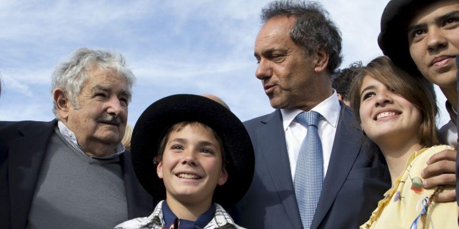 El candidato es apoyada por la actual presidenta de argentina Cristina Kirchner. Foto:AP