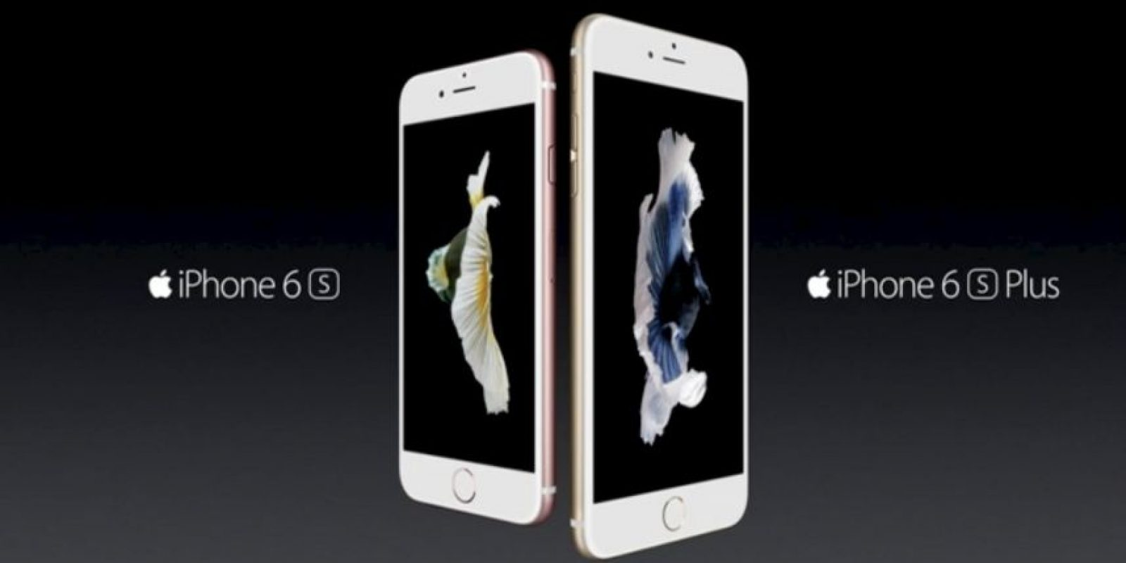 La pantalla del iPhone 6s es de 4.7 pulgadas por las 5.5 pulgadas del iPhone 6s Plus. Foto: Apple