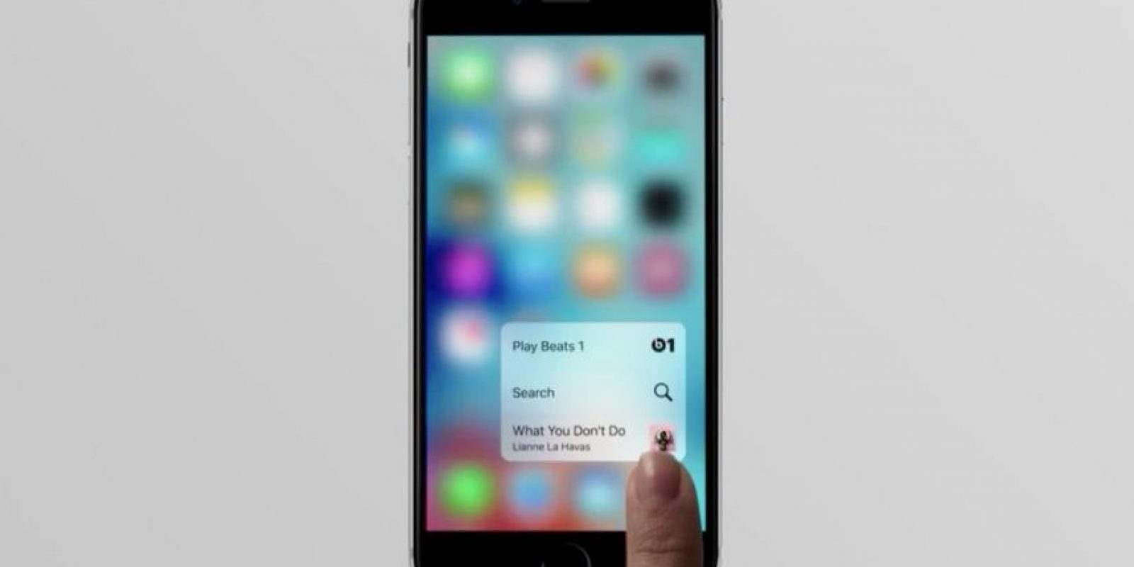 3D Touch es la tecnología integrada. Foto: Apple