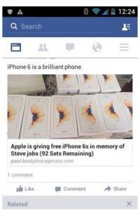 Esta es la nueva estafa en Facebook. Foto:vía Facebook