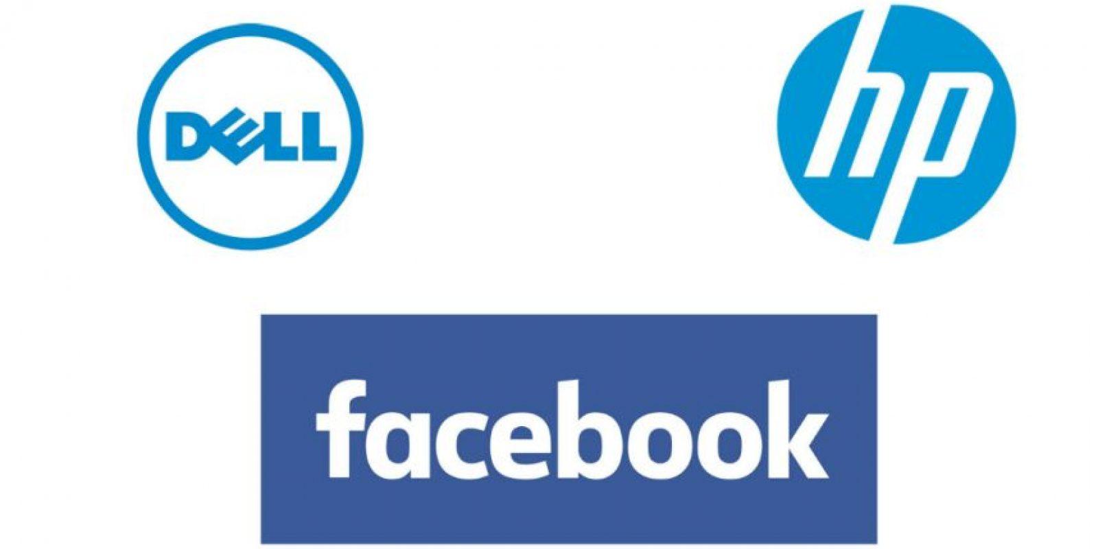 Estas son las empresas que más gastan. Foto:Dell / HP / Facebook