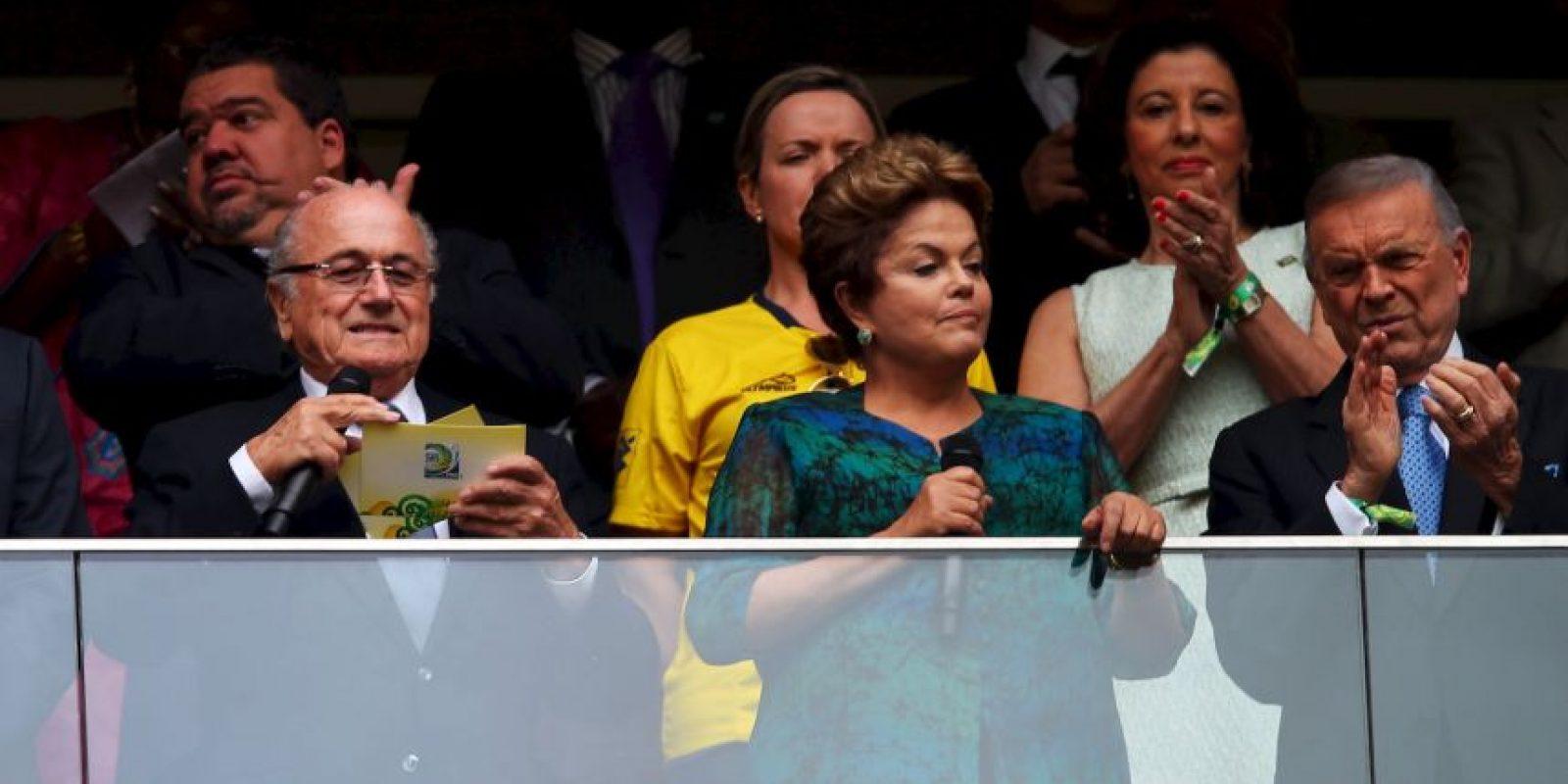 Estuvo presa durante la dictadura militar brasileña Foto:Getty Images