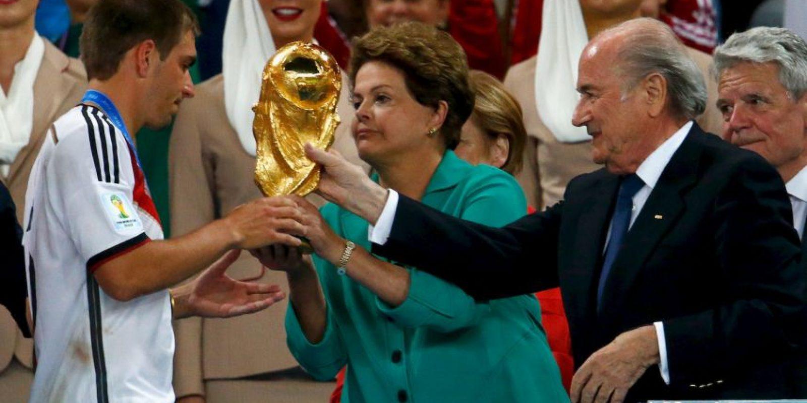 Es presidenta de Brasil desde el 1 de enero de 2011 Foto:Getty Images