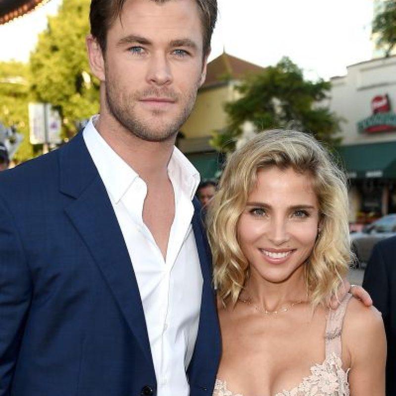 9. Está casado con la actriz española Elsa Pataky. Foto:Getty Images