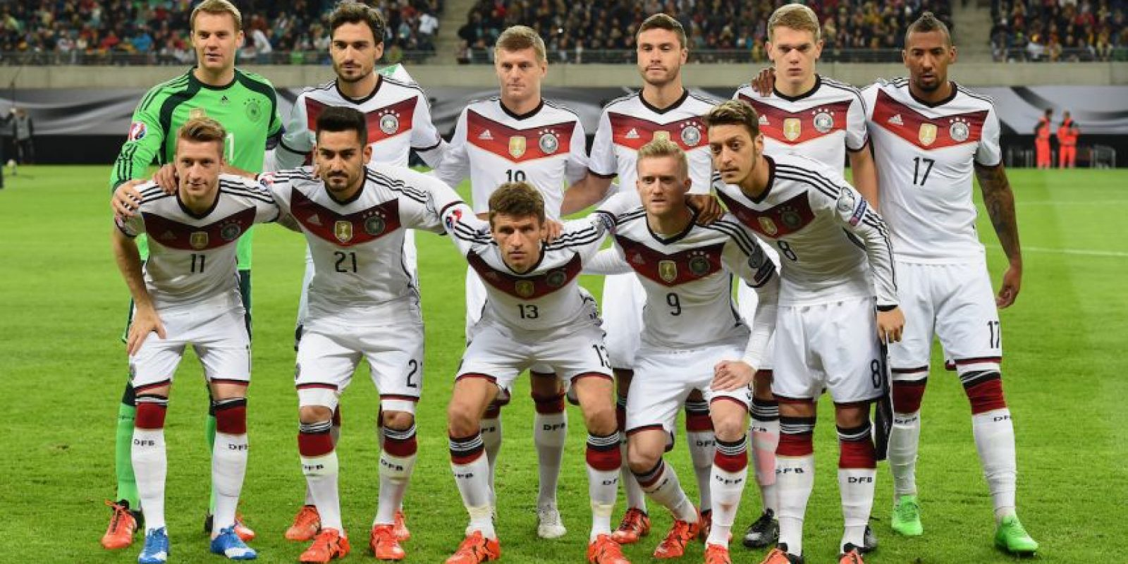 9. Alemania Foto:Getty Images